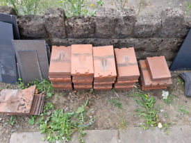 Used Redland Rosemary Clay roof tiles