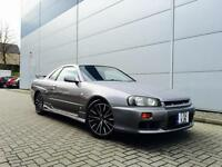 1999 T Reg Nissan SKYLINE 2.5 GTT TURBO Manual + NISMO SKIRTS /HKS INDUCTION