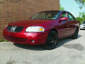 2004 Nissan Sentra **CERTIFIED AND EMISSIONS TESTED**