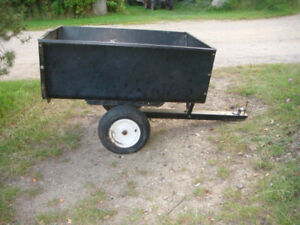 Used Brinly Lawn Tractor Trailer. Great Condition.