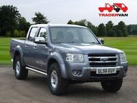 2006 FORD RANGER THUNDER Double Cab 4WD 4x4 PICK UP TRUCK - NO VAT DIESEL MANUAL