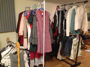 Women's clothes of different seasons