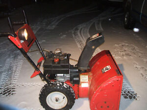 MTD YARDWORKS SNOWBLOWER 10/28