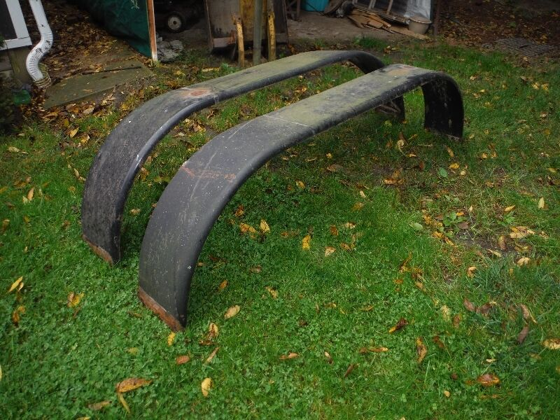 Dually Trailer Fenders : Pair of dual axle trailer fenders parts accessories