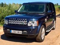 Land Rover Discovery 4 3.0TDV6 ( 210hp ) Auto Commercial 2010/60 Baltic Blue
