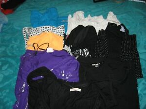 variety of teen name brand tops