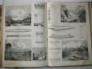 Antique Book Knight's Pictorial Gallery of Arts Useful Arts 1850 London Ontario image 6