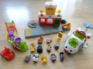 Fisher Price Little People aéroport / airport