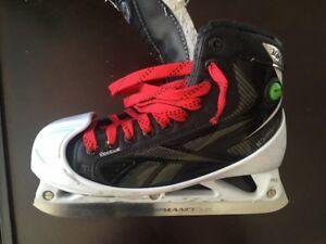 goalie skates - REEBOK 14K - size 4