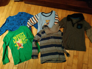 10 pieces of clothing lot for toddler boy - size 4&5