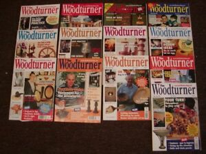 WOODTURNING MAGAZINES: THE WOODTURNER