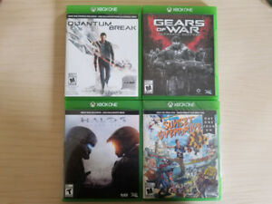 Xbox One Game Lot (4)