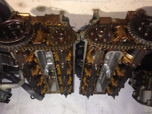 bmw engine head tete de moteur 4.4l 1999