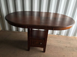 Solid Wood Dining Table - $100 Kitchener / Waterloo Kitchener Area image 2