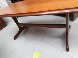 Sutcliffe Furniture teak coffee table
