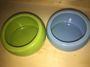 Dog/Cat Bowls/Small Animal Bowls/Small Animal Litter Pan