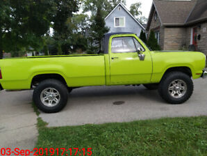 1977 Dodge Powerwagon W200