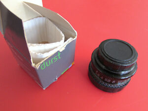 Durst Optar enlarger lens 50mm f 2.8