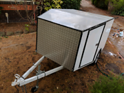 Trailer, white, enclosed Doncaster Manningham Area Preview