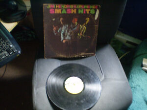 vinyl Jimi Hendrix smash hits/rainbow bridge/band of gypsys