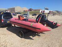 Rib Zidiac boat