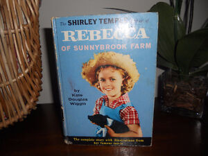 The Shirley Temple Edition of Rebecca of Sunnybrook Farm Book