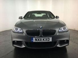 2011 BMW 520D M SPORT AUTO DIESEL 4 DOOR SALOON SERVICE HISTORY FINANCE PX