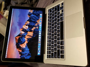 2012 Macbook Pro 13 10 GB/500 GB With Charger - $445 firm