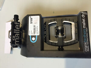 Crank Brothers Mallet DH pedals $100