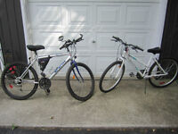 His and Hers Bikes.. or sell separate ...........