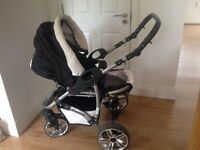 Kids children baby buggy with all incl rain cover