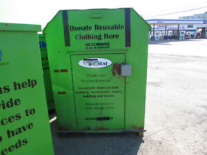 Metal Donation Bins