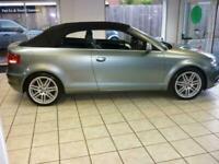 2009 Audi A3 1.6 S Line 2dr CONVERTIBLE Petrol Manual