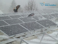 Solar panels microFIT & Net Metering programs
