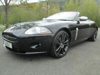 06/06 JAGUAR XK 4.2 SPORT CONVERTIBLE IN MET BLACK WITH SERVICE HISTORY