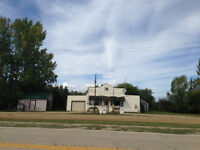BUSINESS / RESIDENTIAL OPPORTUNITY - Shortdale Manitoba