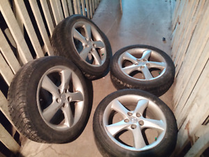 17 inch mazda mags