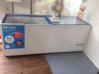 Commercial chest freezer 210cm