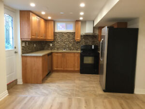 2 Bed, brand new, bright, and lux basement for rent in Ajax !!!