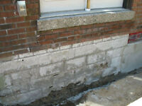Masonry Repair,Restoration, New Projects, Parging -Tuck Pointing