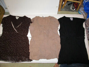 Maternity Shirts - size med and large
