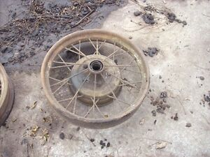 "Ford  21  Inch  Model  ""A""   First  Type   Wheels"