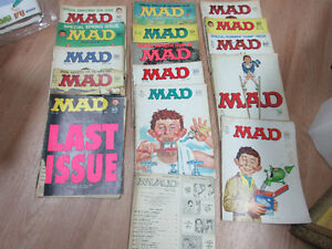 Comics, Mad Magazines & Collectors Editions of  Vintage Magazine