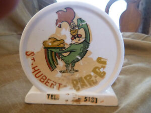 Tirelire <<<  St-Hubert BBQ >>> Vintage Piggy Bank