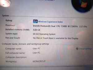 ACER 2009 - 2.2GHZ - 4GB Ram - 250HDD Kingston Kingston Area image 4