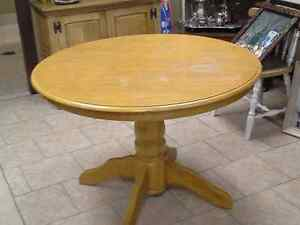 Lots of extra furniture for sale..table, chairs, dresser, lamps