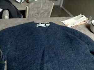 100% Wool sweater