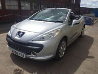 Beautiful Peugeot 207cc 1.6 convertible, full years MOT, low miles