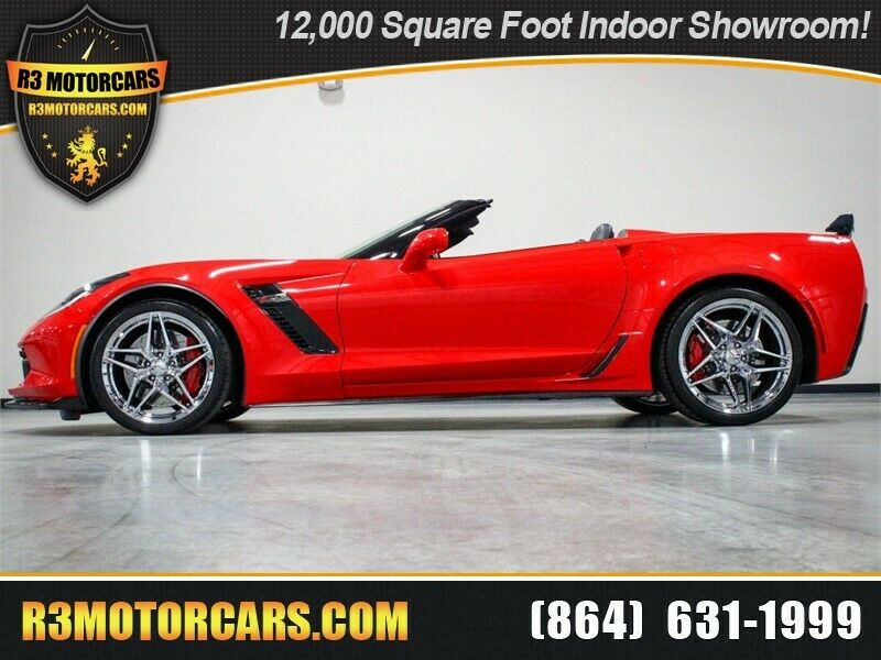 2016 Red Chevrolet Corvette Z06 2LZ | C7 Corvette Photo 1
