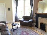 Furnished 2 double bedroom flat, Marchmont